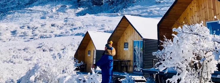 冬日赏雪  一幅铺展天地间的冰雪画卷